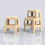 Flex step stools